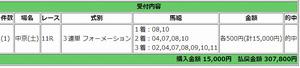 3月17日中京11レースPAT画面